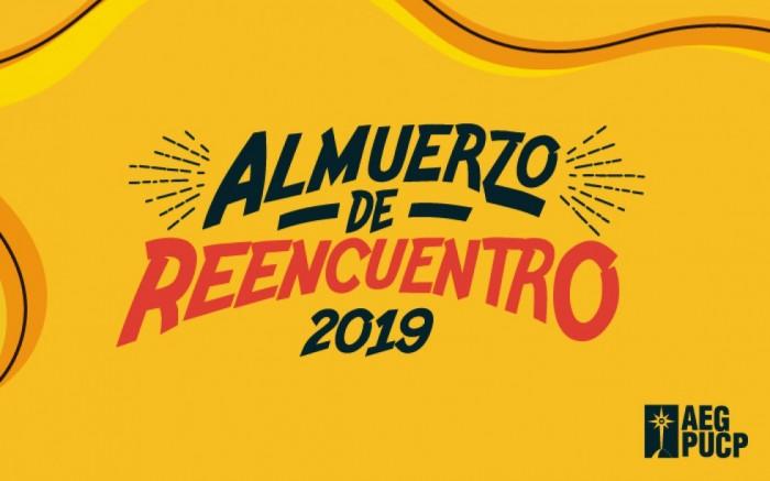 Almuerzo De Reencuentro Pucp 2019