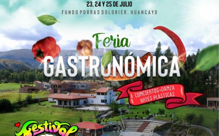 Festival Regional Gastronómico y de las Artes Vivas