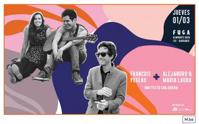 Alejandro y Maria Laura + Francois Peglau en vivo 01/03 /  / Joinnus