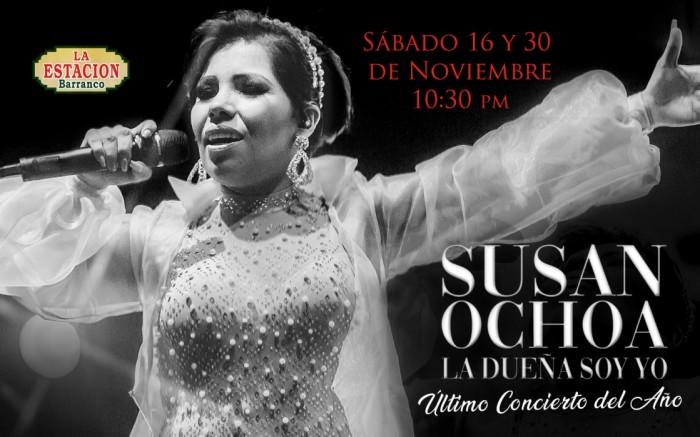 SUSAN OCHOA - Último concierto del año