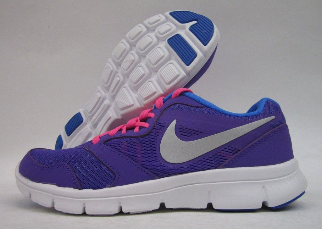 958c28096e2e Details about NIKE FLEX EXPERIENCE 3 SNEAKERS KIDS BIG GIRLS SIZE PURPLE  653698-501