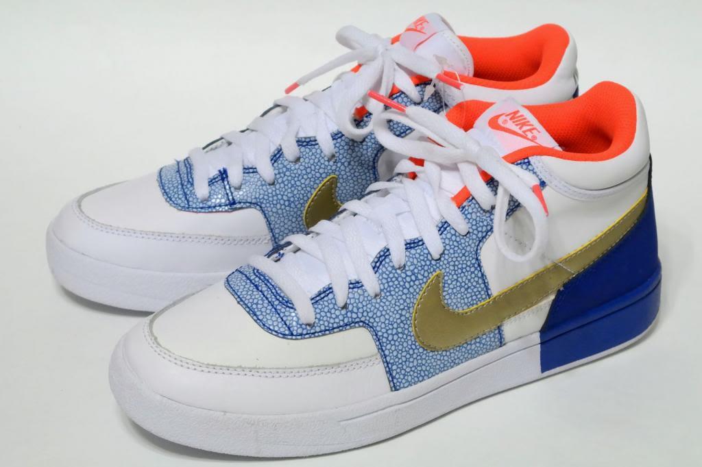 sports shoes 71910 6bd70 Details about NEW NIKE John McEnroe CHALLENGE COURT MID MEN Retro Sneakers  VTG RARE LTD US 9