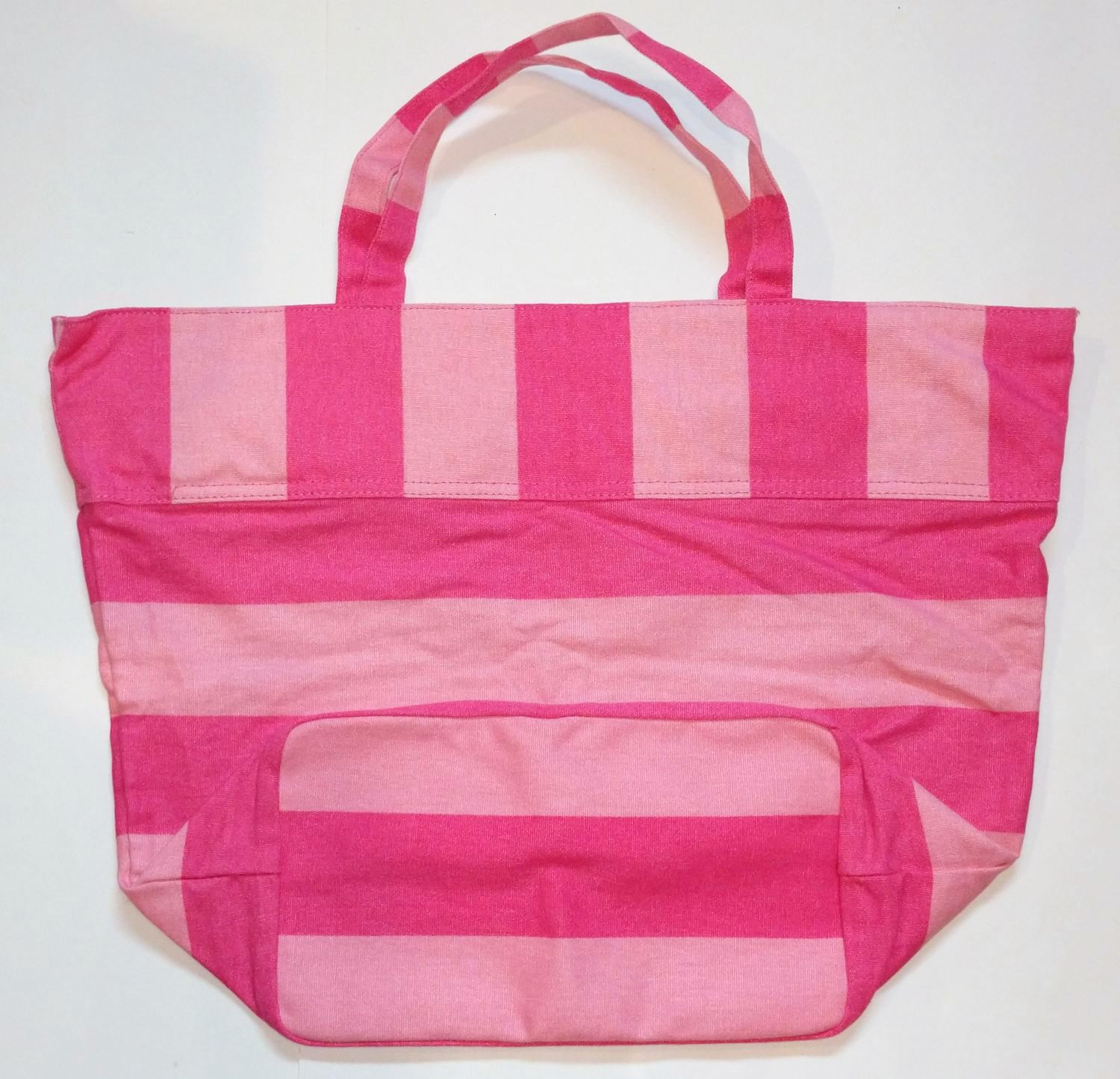 Sealed Victoria/'s Secret Pink Stripe Beach Tote Limited Edition! New with Tag