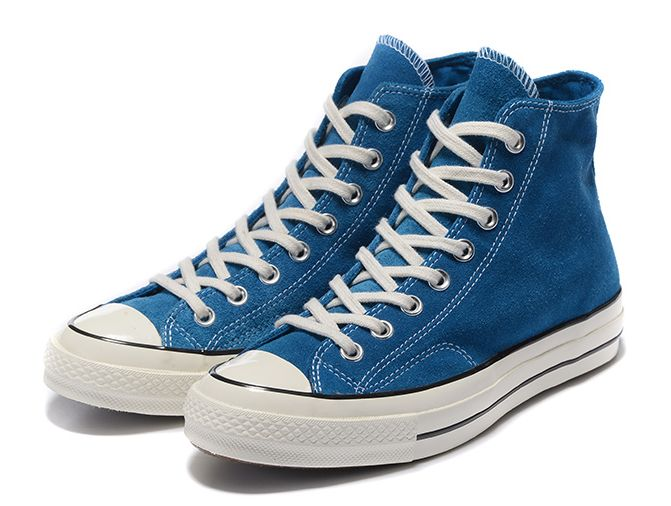 635d7f8e4f8b CONVERSE CHUCK TAYLOR ALL STAR 1970S BLUE SUEDE HIGH TOPS SHOES 149442C  1.jpg