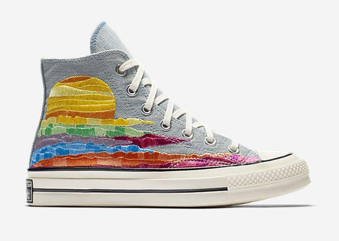 2dd16d71ec9 RARE Converse X Mara Hoffman Chuck Taylor All Star Sneaker 1970 s 70 ...