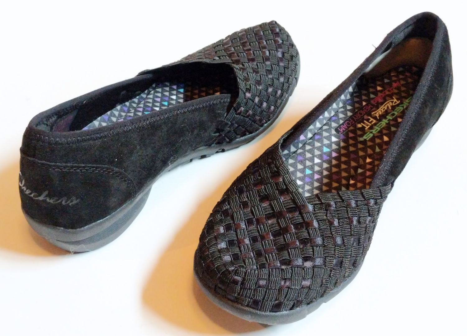 45cd52b1621 Skechers Women s Relaxed Fit Career Puzzling Loafer  US 7