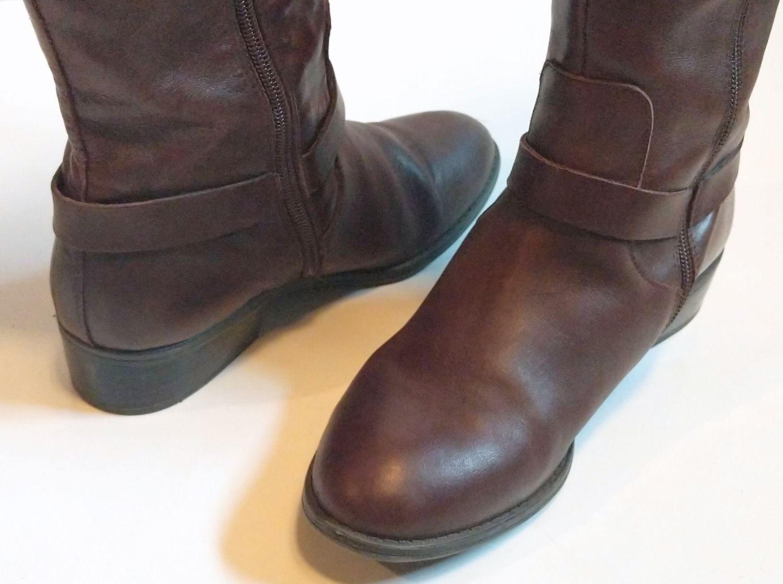 Lauren by Ralph Lauren Brown Leather Riding Boots 4.jpg