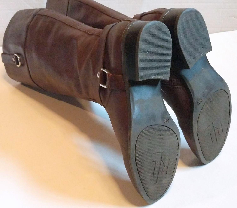 Lauren by Ralph Lauren Brown Leather Riding Boots 5.jpg