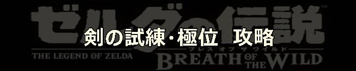 剣の試練・極位_ブレスオブザワイルド