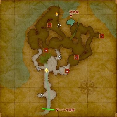 ドラクエ11マップ-霊水の洞くつ