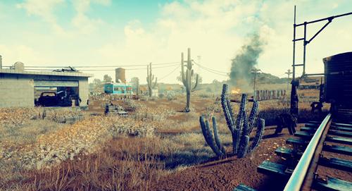 PUBG_砂漠の新マップ