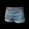 pubg skin Hotpants (Blue)