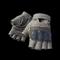 pubg skin Fingerless Gloves (Tan)