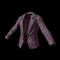pubg skin Women's Tuxedo Jacket (Purple)
