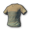pubg skin T-shirt (Striped)