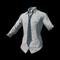 pubg skin School Shirt with Blue Necktie