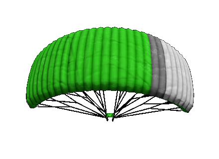 PUBG_Parachute_green