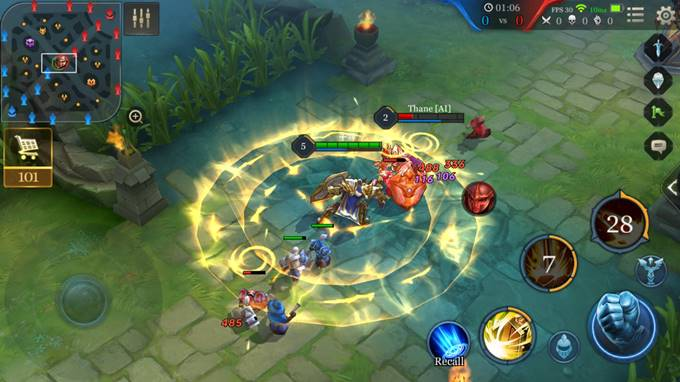 Arena of Valor Control