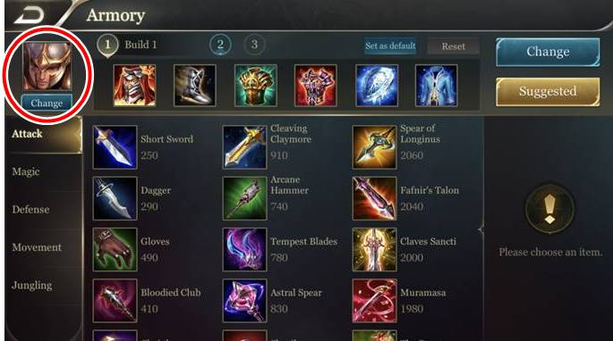 Arena of Valor Armory 2