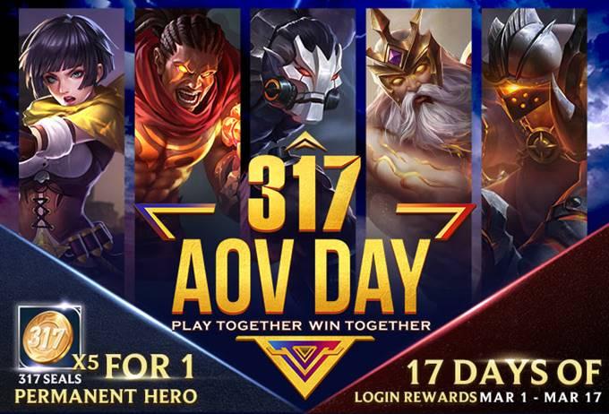 Arena of Valor-AoV-317コイン-イベント