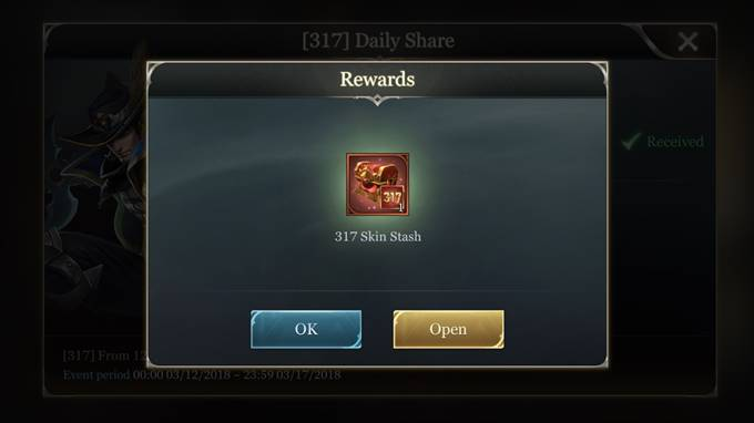 Arena of Valor-317 Daily Share