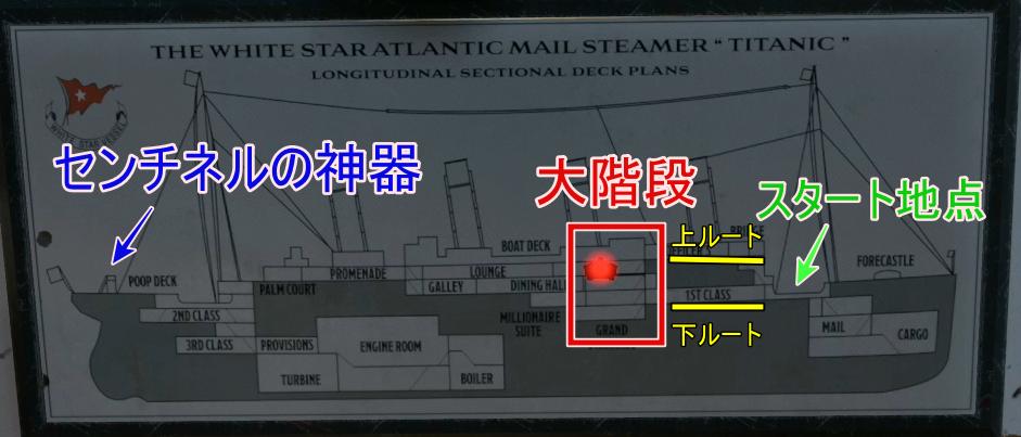 船内マップ