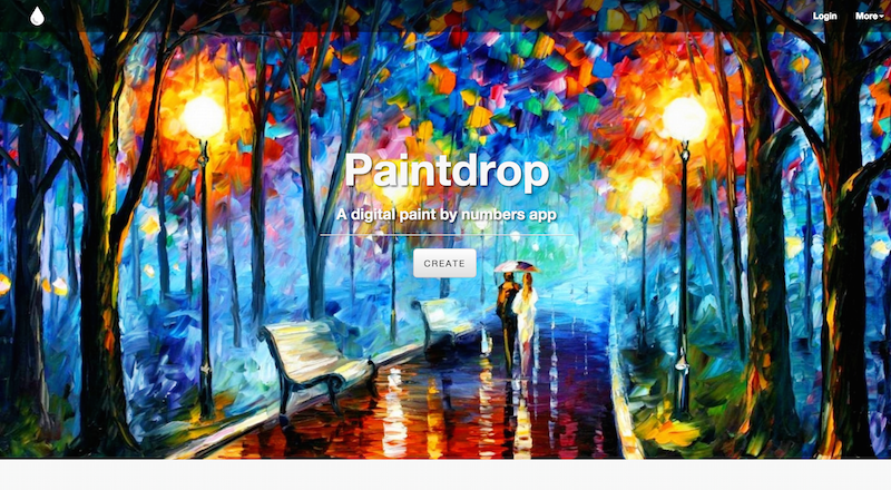 Screenshot of Paintdrop