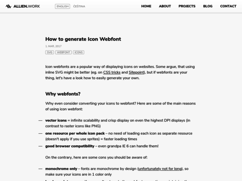 Image for: How to Generate Icon Webfont