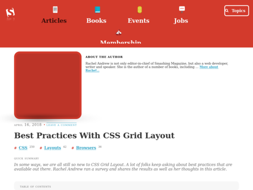 Image for: Best Practices With CSS Grid Layout