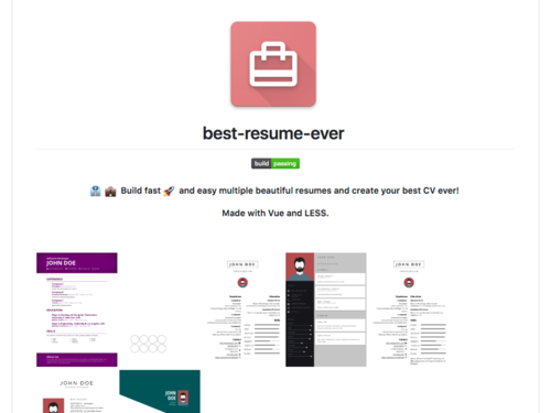 Image for: Best Resume Ever