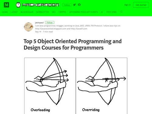 Image for: 5 Object Oriented Programming and Design Courses for Java Programmers