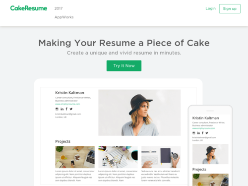 Image for: Create a Unique and Vivid Resume in Minutes