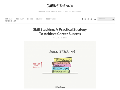 Image for: Skill Stacking: A Practical Strategy To Achieve Career Success