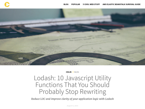 Image for: 10 JS Functions You Should Stop Rewriting