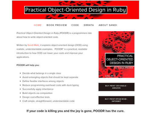 Image for: Practical Object-Oriented Design in Ruby