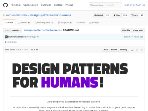Image for: Software Design Patterns for Humans