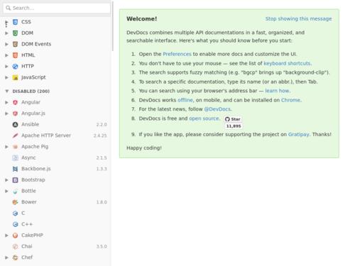Image for: Offline API Documentation
