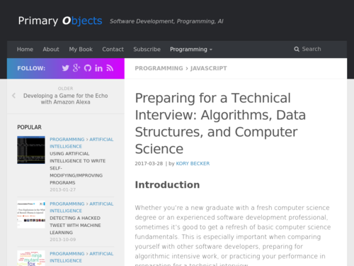 Image for: Preparing for a Technical Interview