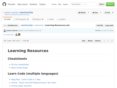 Image for: Learning Resources