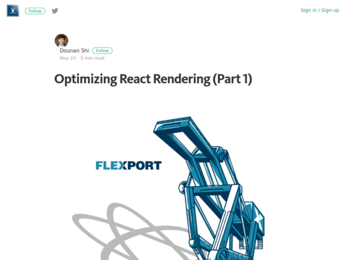 Image for: Optimizing React Rendering (Part 1)