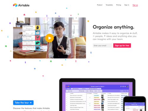 Image for: Airtable, Badass Organization for Anything