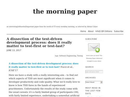 Image for: Test-First or Test-Last: Does it Really Matter?