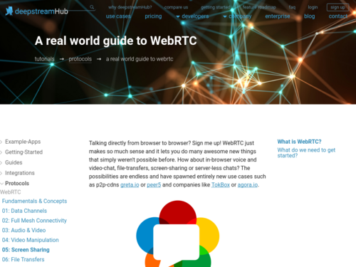 Image for: A Real World Guide to WebRTC