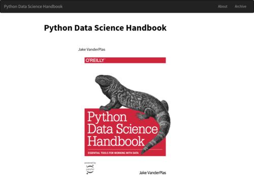 Image for: Python Data Science Handbook