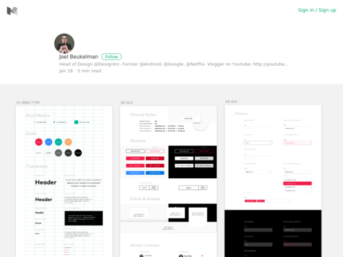 Image for: 8pt Material Design GUI Templates