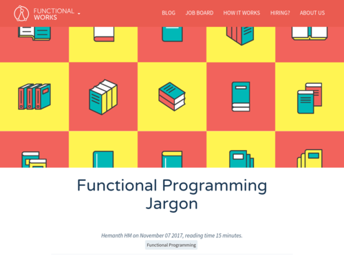 Image for: Functional Programming Jargon