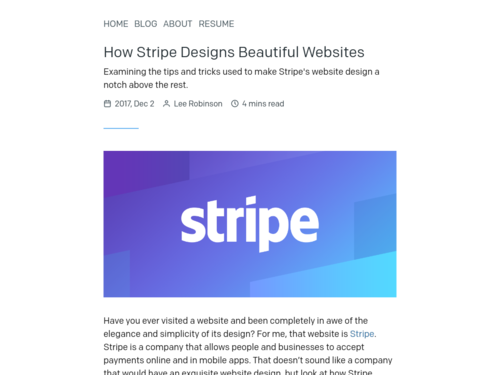 Image for: How Stripe Designs Beautiful Websites