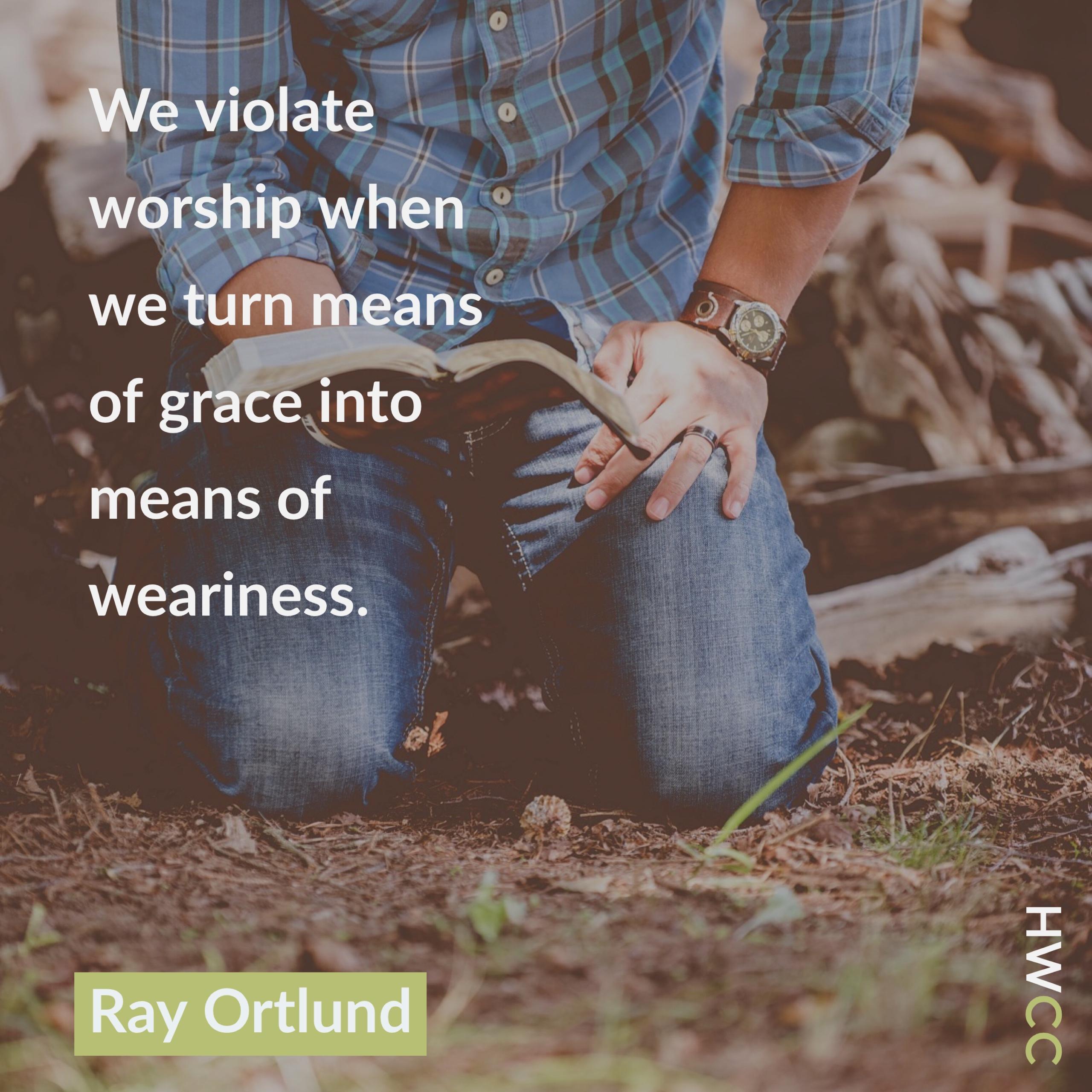 Violating Worship