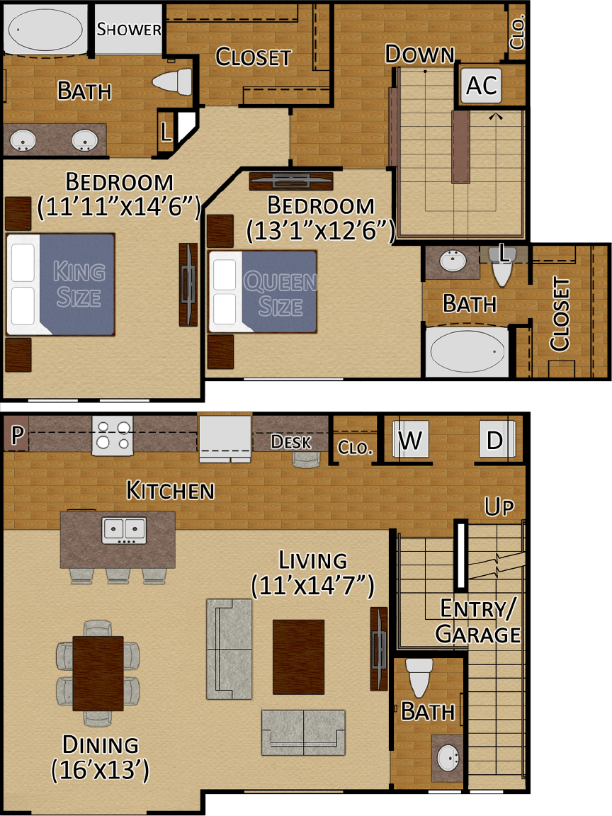 Tuckerton II Layout