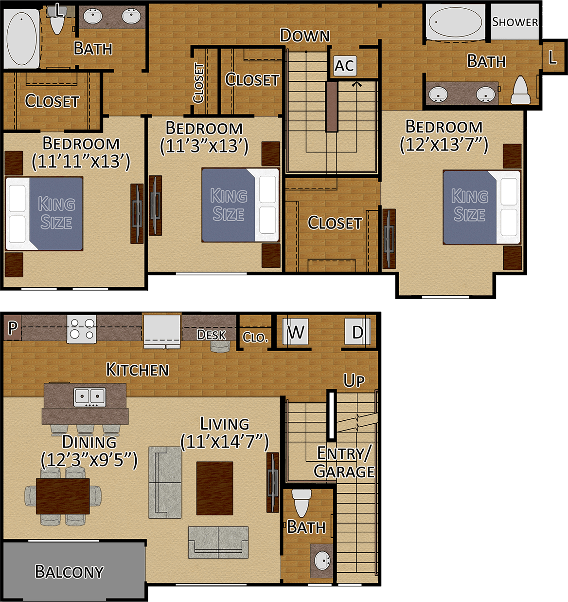 Tuckerton III Layout